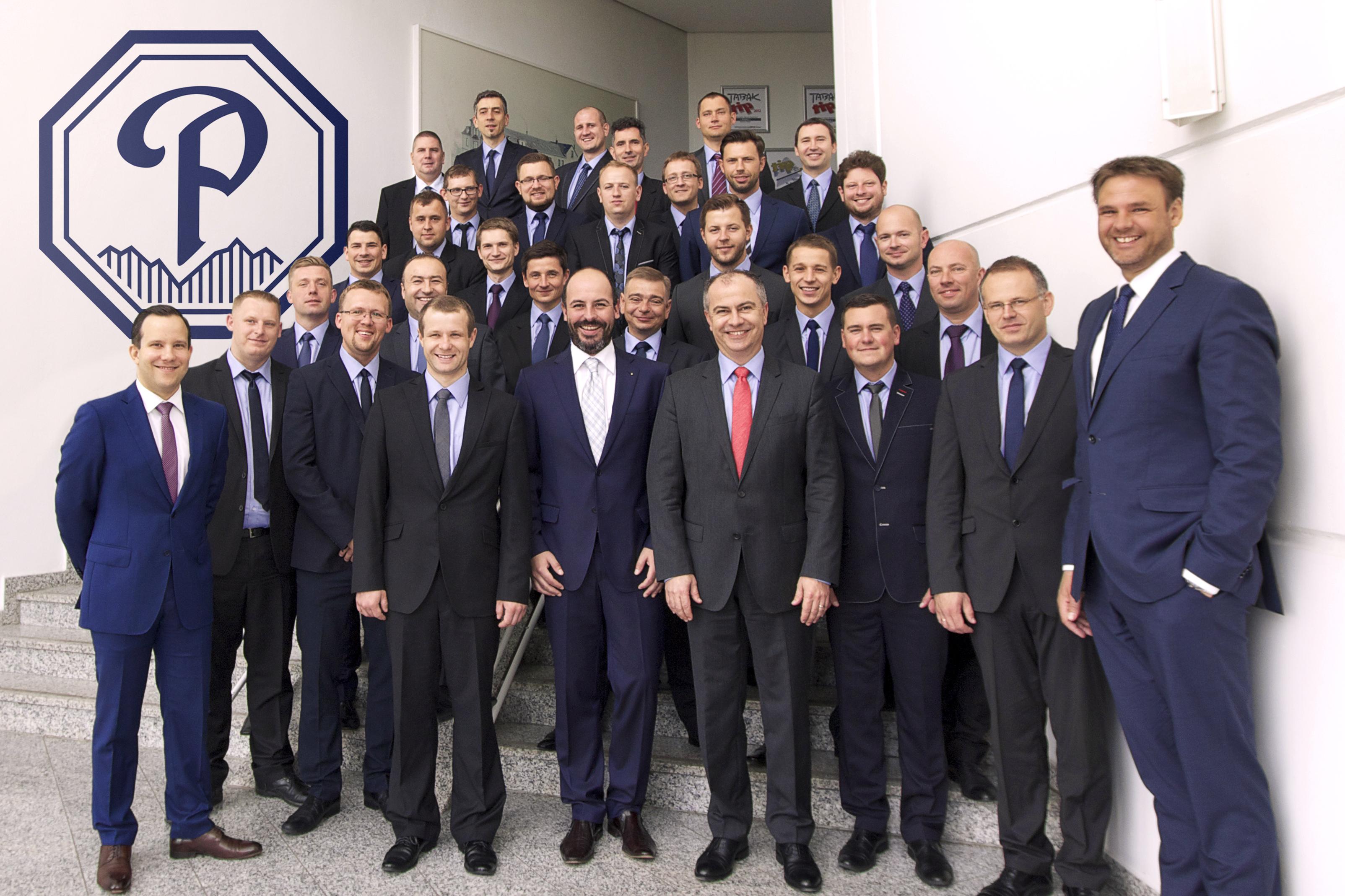 Pracownicy TTI Poland z wizytą w Poschl Tabak